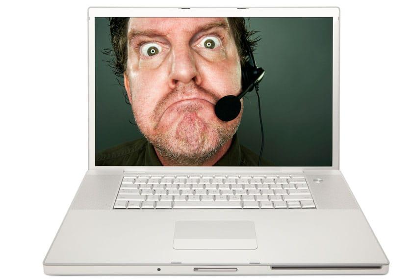 Comcast customer service agent