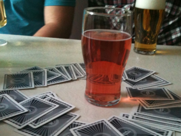 Top five drinking games