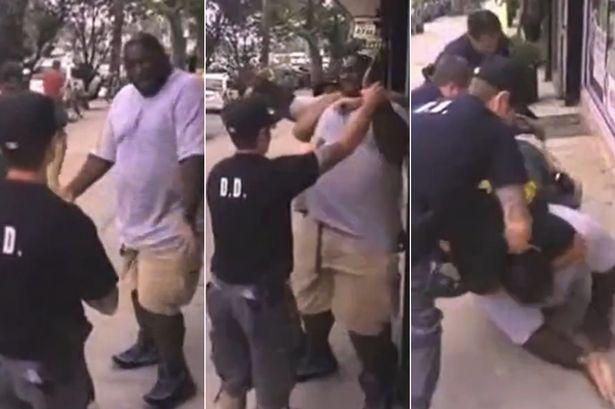 Eric Garner police report