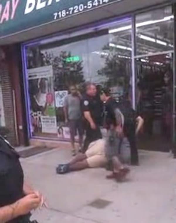 Eric Garner choked