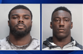 Alexander Figueroa and Jawand Blue, UM football players arrested for sexual battery of 17 year old