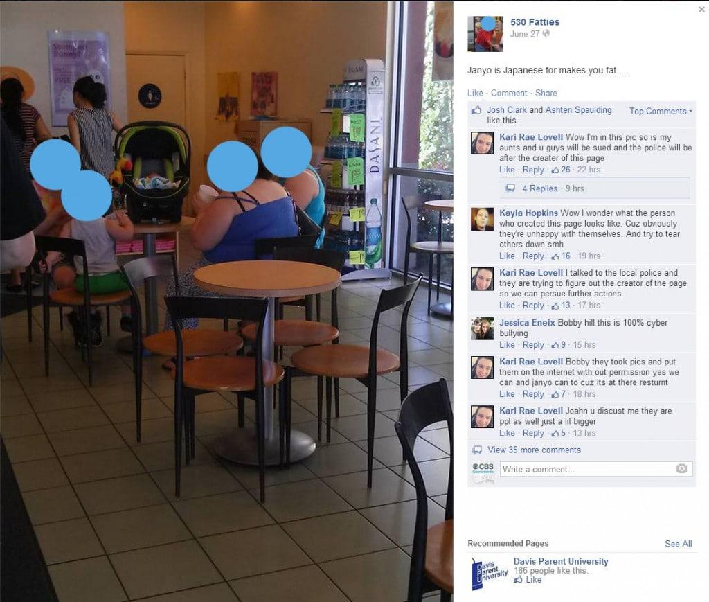 530 Fatties Facebook page