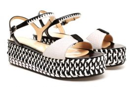 Wearing flatform shoes is guaranteed to kill you this summer