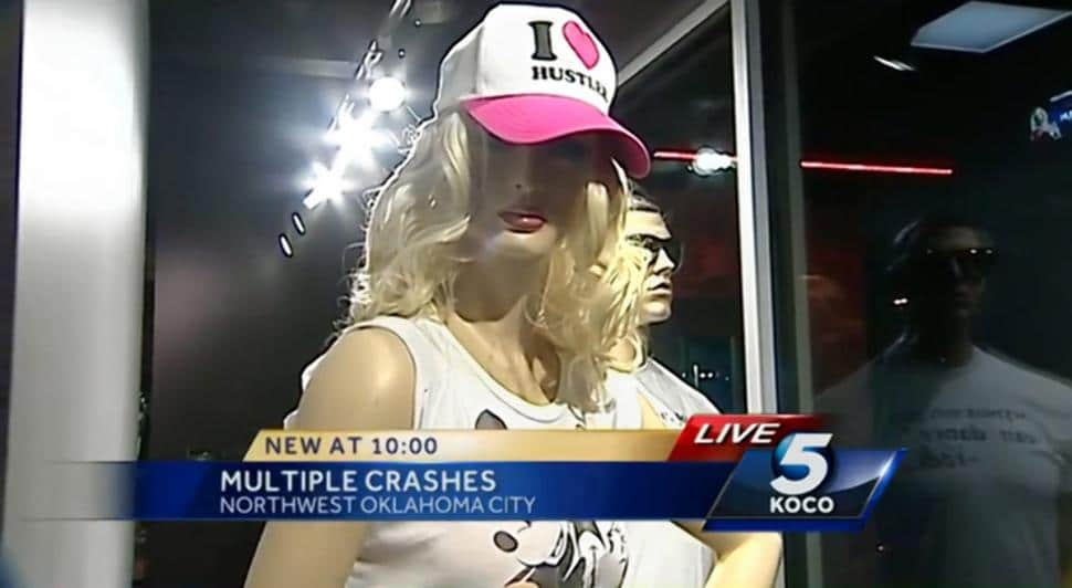 Sexy Hustler store mannequins blamed for accidents