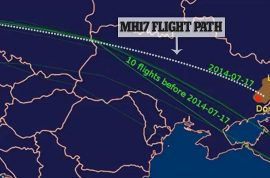 Did Malaysia Airlines MH17 last minute route over Ukraine airspace put it in peril?