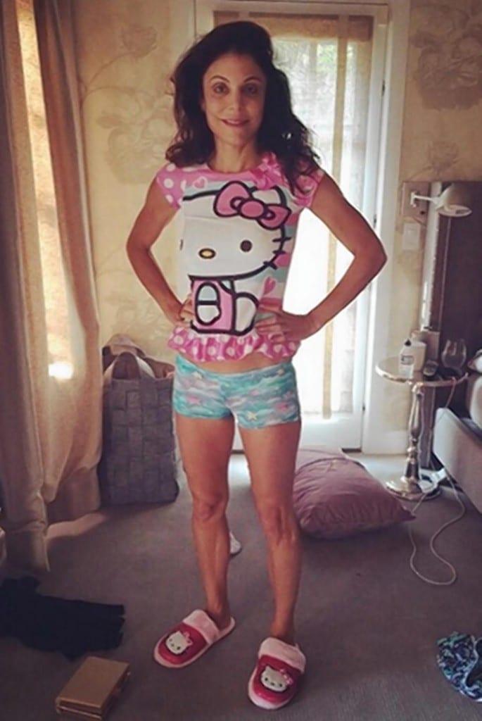 Bethenny Frankel pajamas