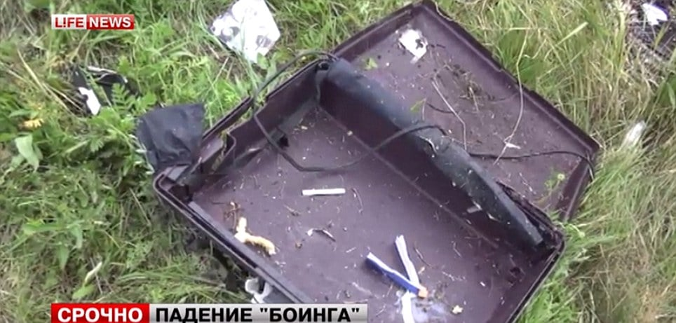 Malasysian Airlines MH17