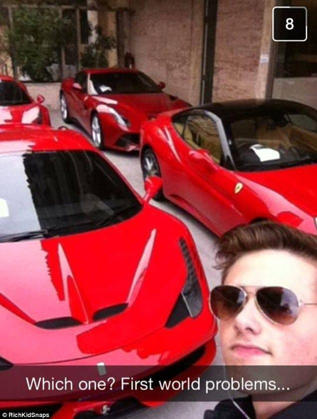 rich kids of snapchat