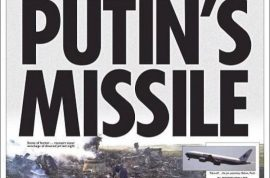 Malaysia Airlines MH17 Media bias. How Vladimir Putin became the bogeyman
