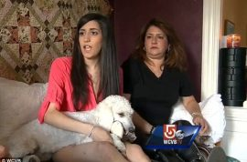 Sydney Corcoran, post traumatic stress sufferer forced to leave TJMaxx over service dog.