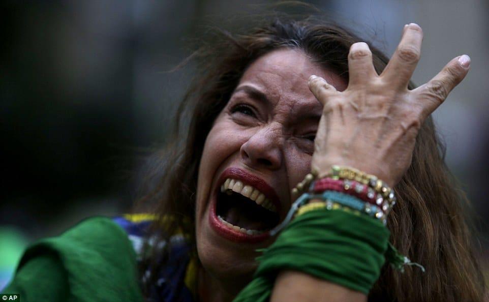Germany 7:1 win over Brazil