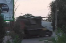 Malaysian Airiines MH17 BUK missile launcher smuggled back to Russia. Missing 2 rockets