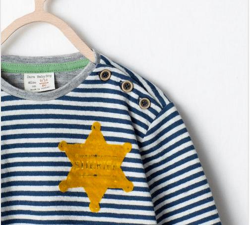 Zara concentration camp uniform