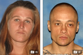 Chelsie Berry and Jared Prier high on meth charged with posing for selfie with corpse of friend