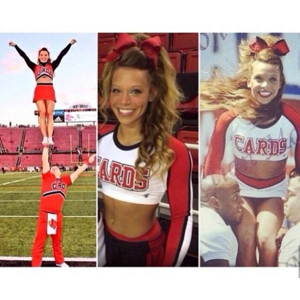 Danielle Cogswell Louisville cheerleader