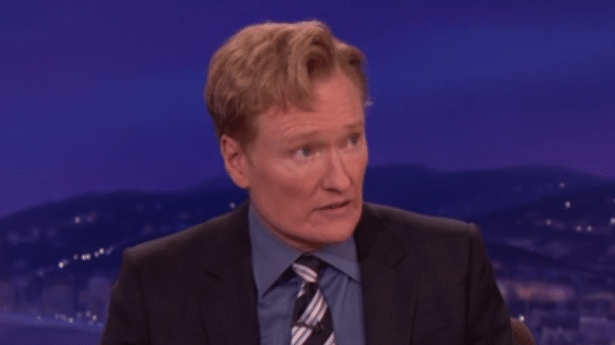 Robin Williams bought Conan O'Brien a bicycle