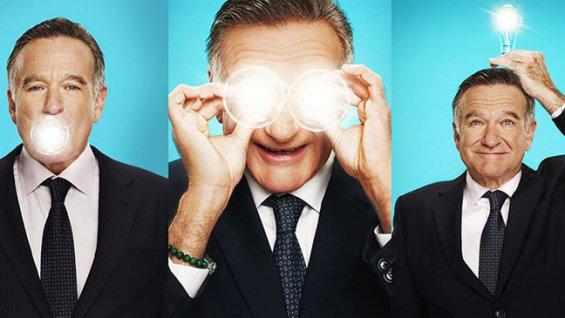 Robin Williams was drinking on CBS set.