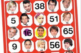 Celebrity bingo fans.