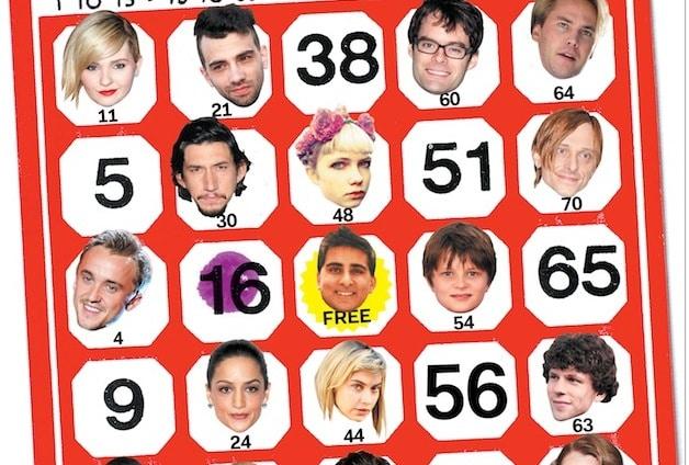 Celebrity bingo fans