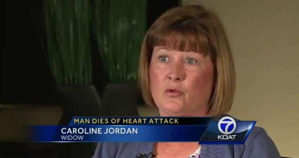 Jack Jordan refused defibrillator cause of hairy chest