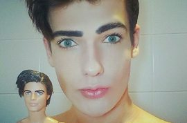 Celso Santebanes, Brazilian model, new Human Ken doll spends $50K on plastic surgery