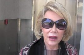 Joan Rivers: Palestinian children deserve to die cause they have low IQ's