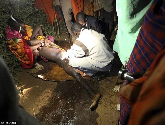 Dozen Kenyan men forced to undergo circumcision