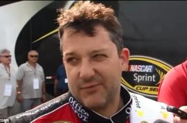 Tony Stewart, history of violence on track. Wrongful death lawsuit?