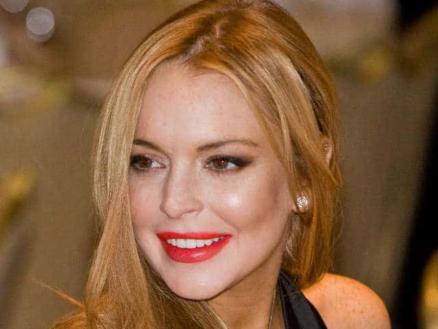 Lindsay Lohan credit card declined