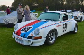 Jerry Seinfeld loves his vintage Porsche. Screams at Hamptons woman