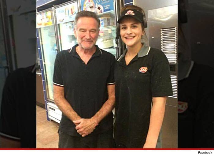 Robin Williams died by hanging himself