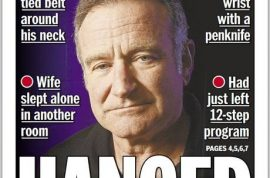 Has the media sensationalized Robin Williams death?