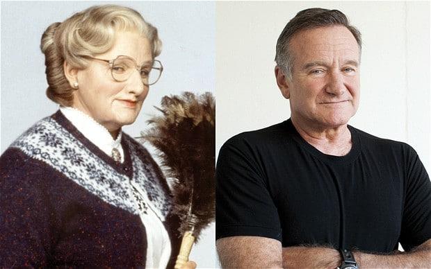 Robin Williams resented Mrs Doubtfire sequel