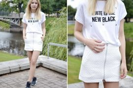 Is Zara's White is the new black t shirt racist?