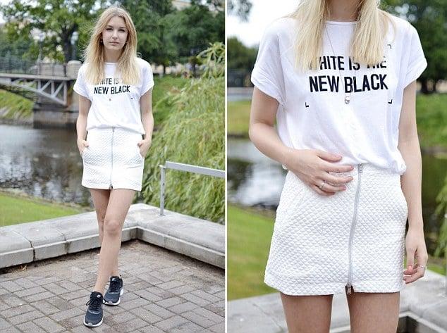 Zara's White is the new black t shirt racist