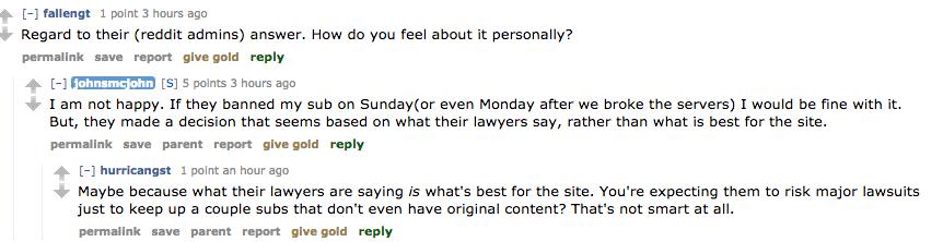 Reddit bans TheFappening