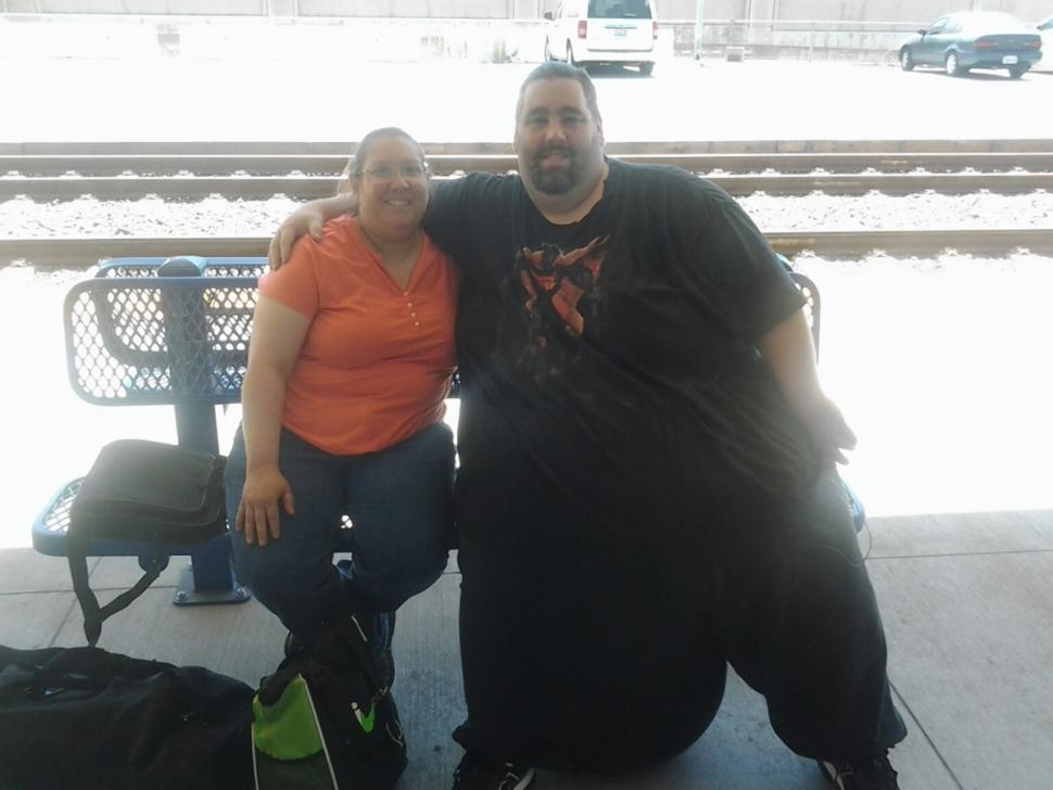 Dan Maurer has 100 pound scrotum removed