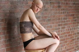 What's Underneath, video web series challenging body image.