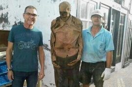 Oh really? Spanish gravedigger suspended after posing picture with exhumed corpse