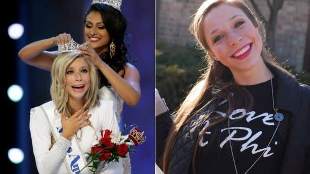 Kira Kazantsev, Miss America haze sorority recruits