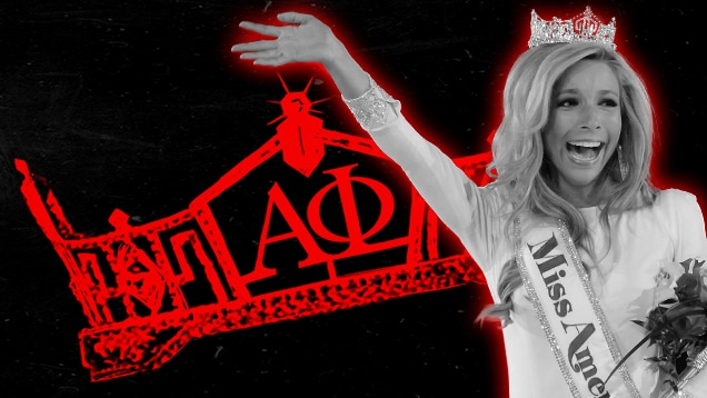 Kira Kazantsev, Miss America haze sorority recruits