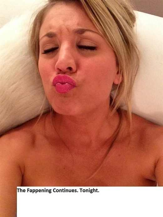 Kaley Cuoco leaked naked