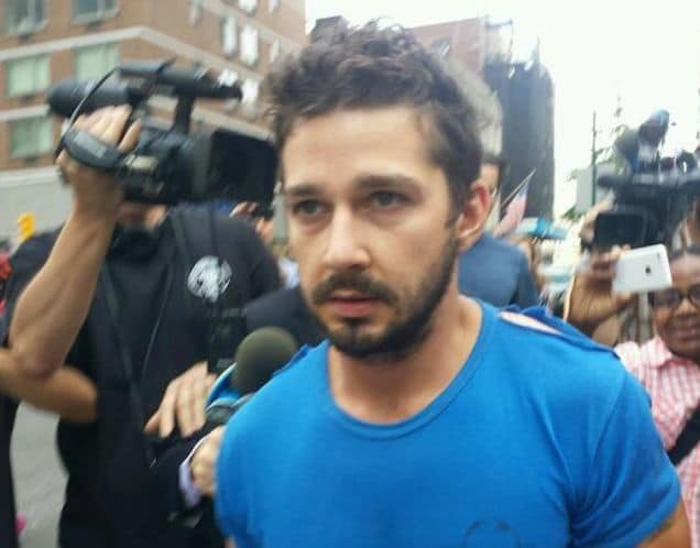Shia LaBeouf pleads guilty