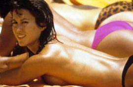 French women refuse to go topless sunbathing cause they're broke