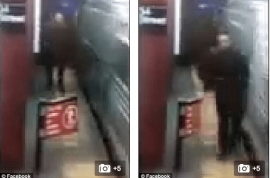 Video: Nyrel Wade clipped and dragged to his death by NYC subway train
