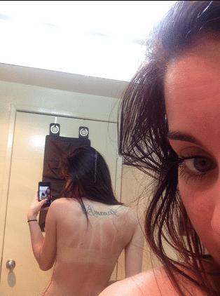 Aubrey Cleland naked