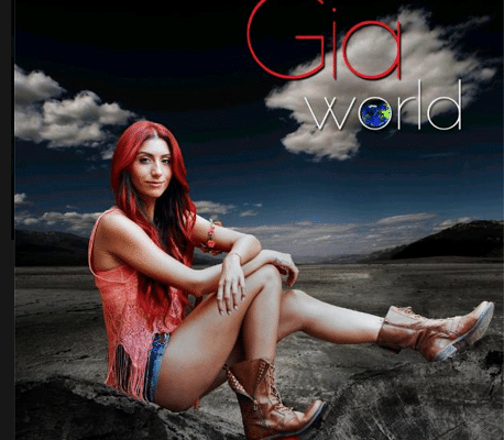 Gia: Pop star with Global Groove, 'Bombs Away' and 'World'.