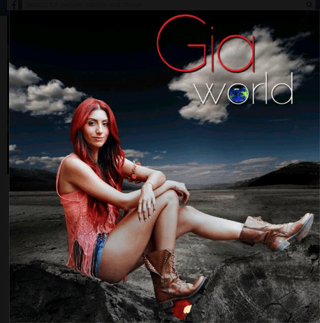 Gia: Pop star with Global Groove