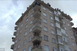 Heval Yildirim, Turkish boy dies after goat falls on top of him from 6th floor apartment