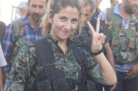 NSFW: Female Kurdish freedom fighter Rehana beheaded by ISIS